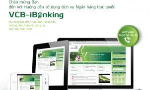 Thanh toán cước bằng iBanking của Vietcombank