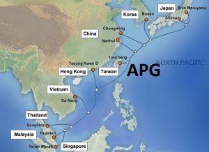 Bảo trì tuyến cáp biển AAG hướng HongKong, Mỹ & Vũng Tàu