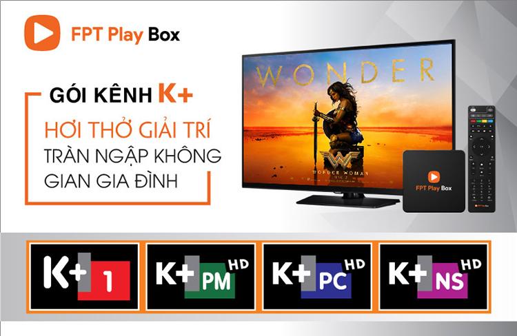 Danh sách kênh k+ fpt play box