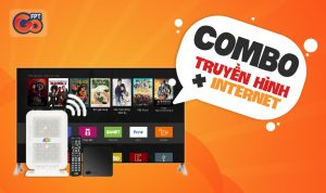Combo internet và Truyền hình FPT – Giá siêu tiết kiệm